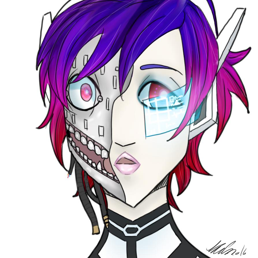 Neo Human by AzimuthsDigitalArt