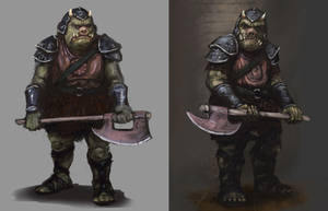Gamorrean Guards by Seraph777