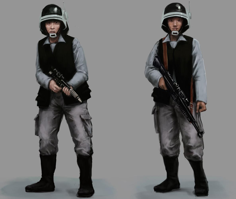 Star Wars Rebel Troopers by Seraph777
