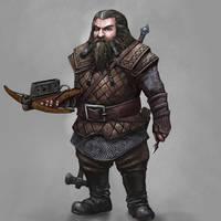 Dwarven Assassin by Seraph777