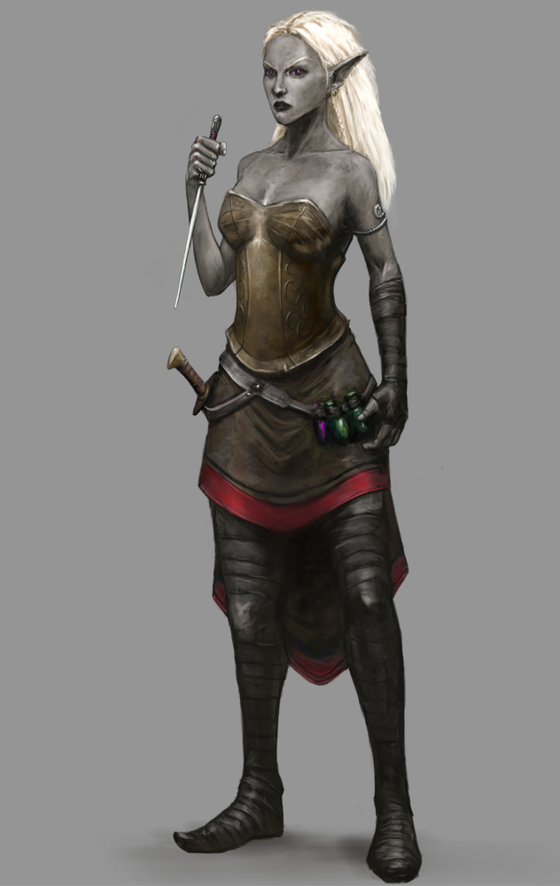 Drow Assassin by Seraph777