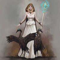 Guardian-Sorceress by Seraph777