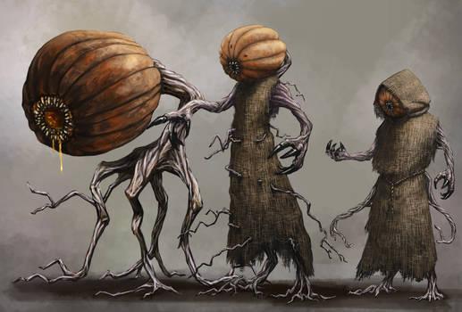 Pumpkin Creatures
