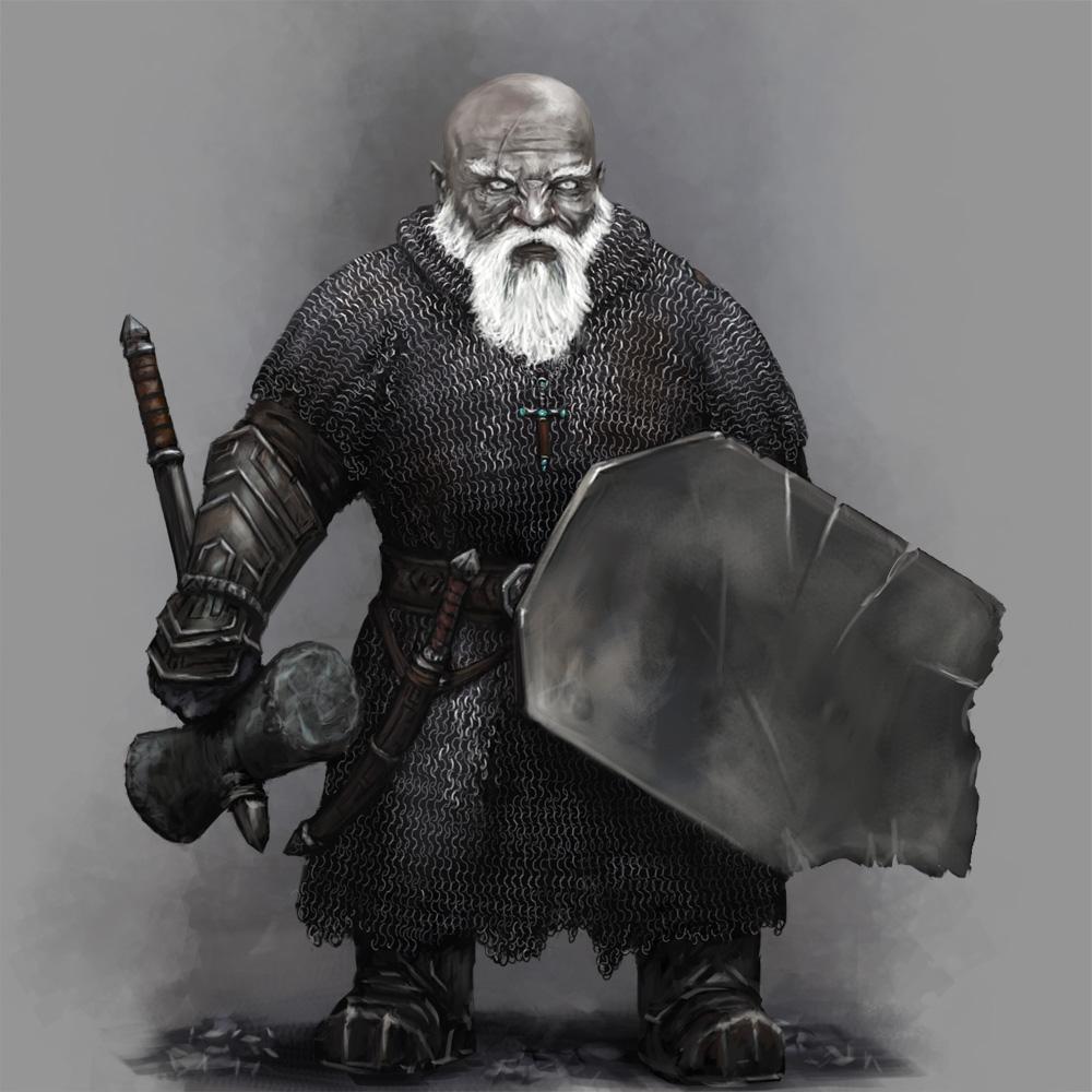 Duergar Cleric of Abbathor