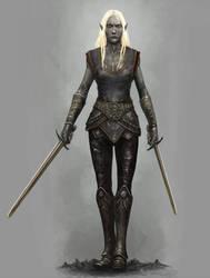 Drow Swordmistress