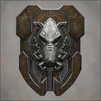 Dwarven Boar Shield by Seraph777