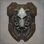 Dwarven Boar Shield