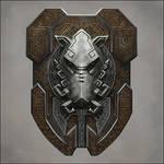 Dwarven Boar Shield
