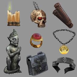 Magic Items Algadon 1