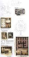 RPG Floor Plan examples