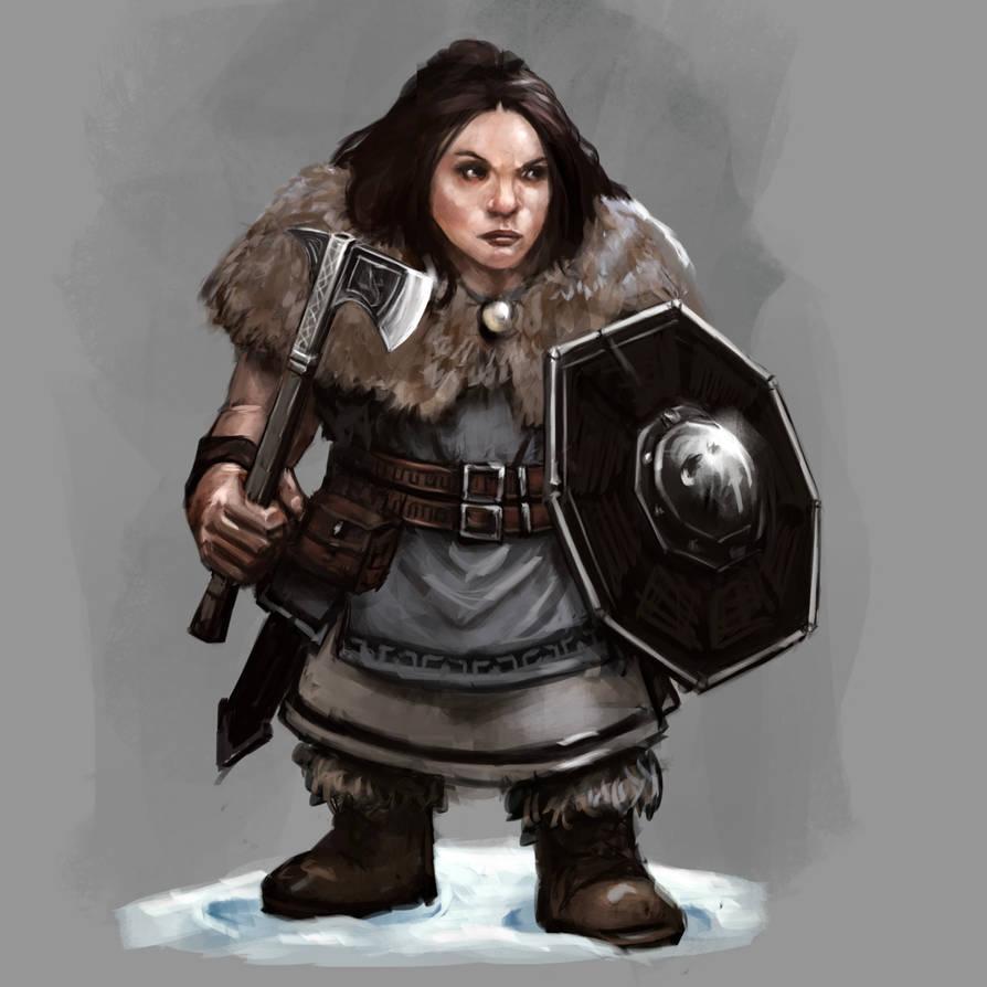 Dwarf Fighter by Seraph777