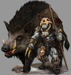 Rakkvosh and Warthog