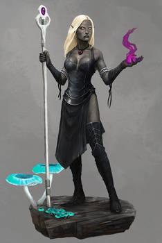 Drow Sorceress