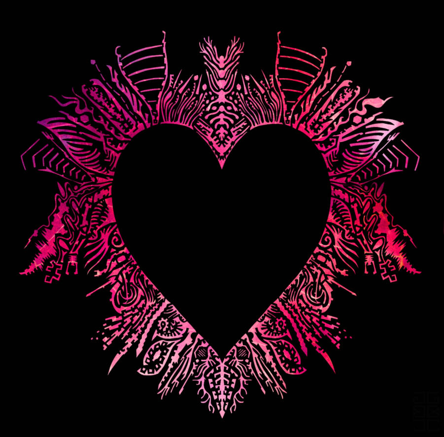 Heart design by GAGBAGCHEN