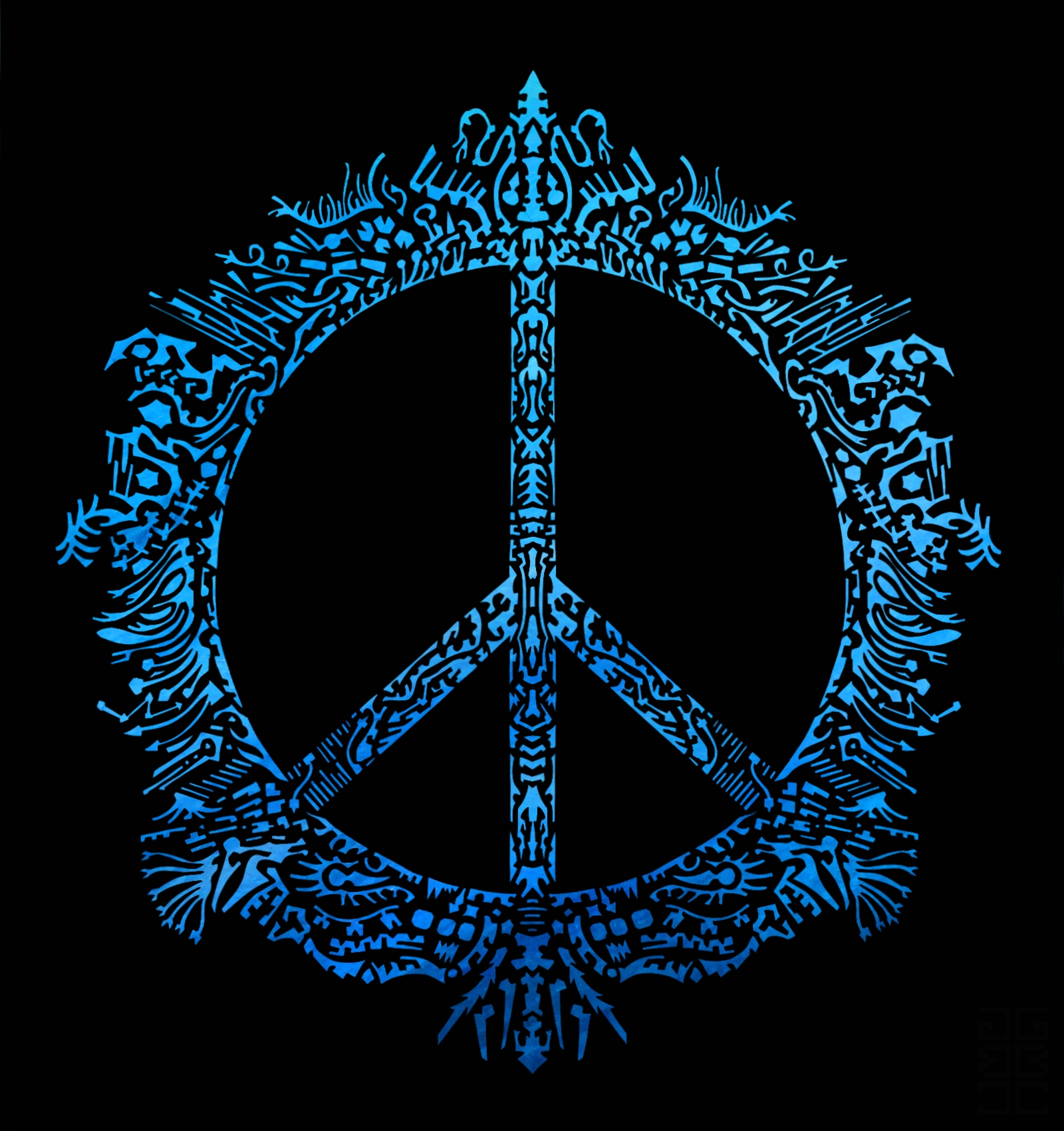 Peace design by GAGBAGCHEN