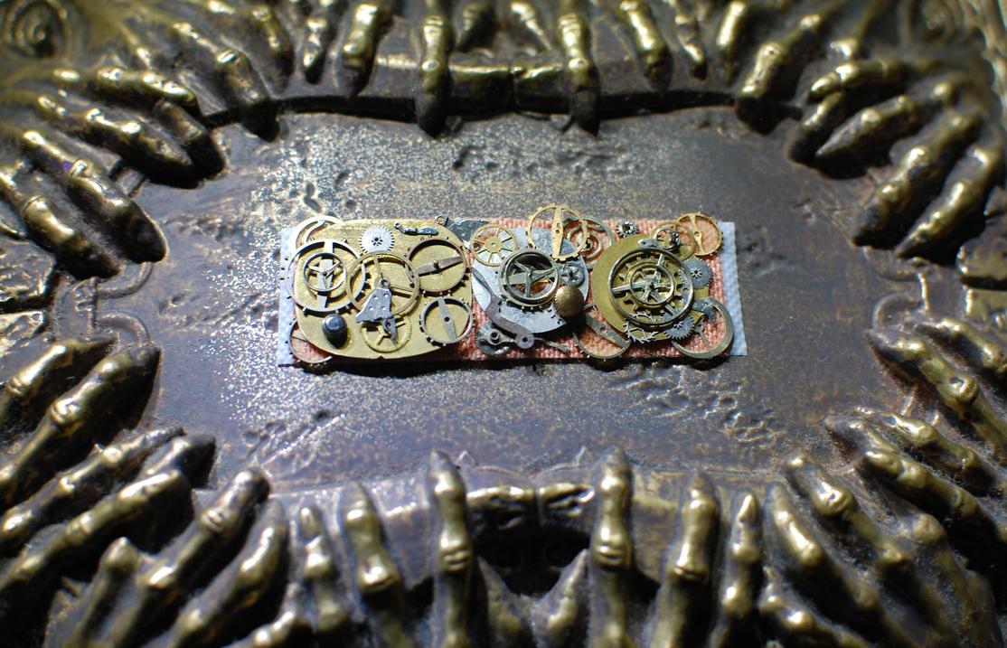 Steampunk Band aid by GAGBAGCHEN