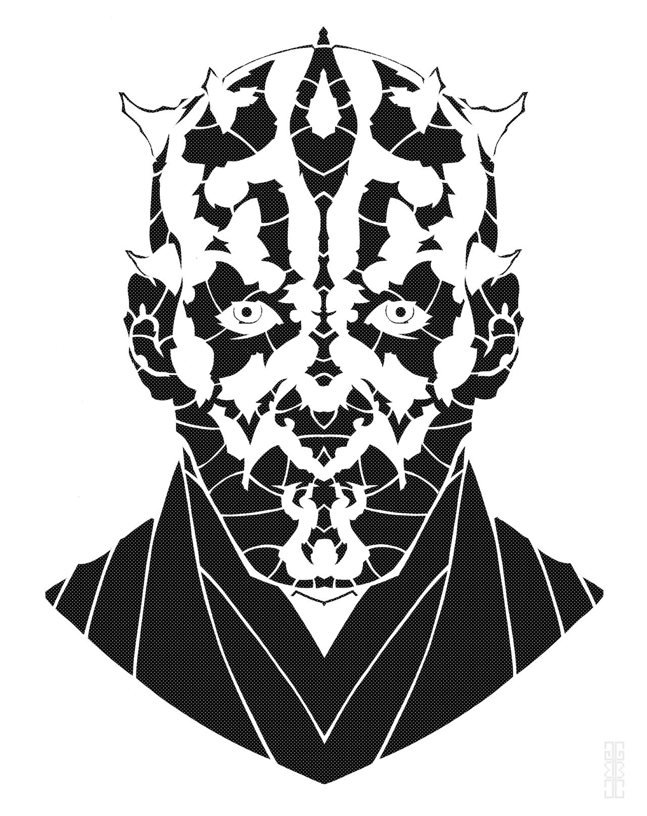 Darth Maul by GAGBAGCHEN
