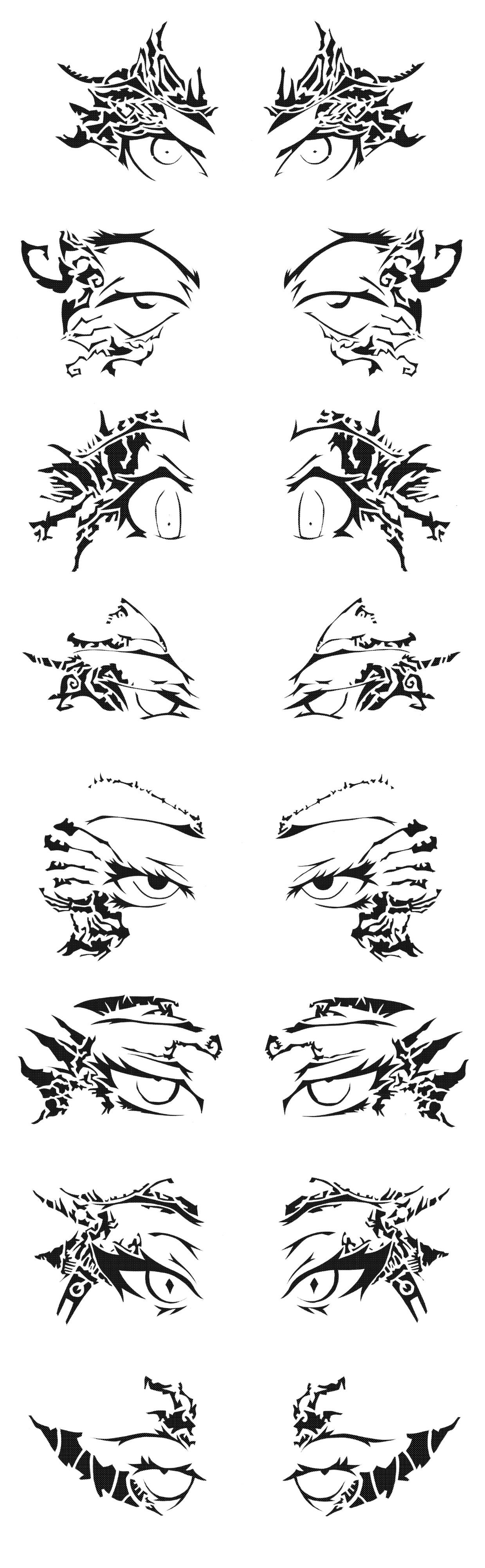 Bitchin' Eyes by GAGBAGCHEN