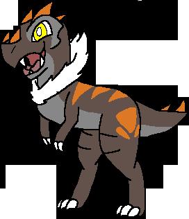 Rex The Tyrunt by millemusen