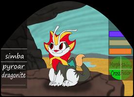 Simba | male | pyroar/dragonite by millemusen