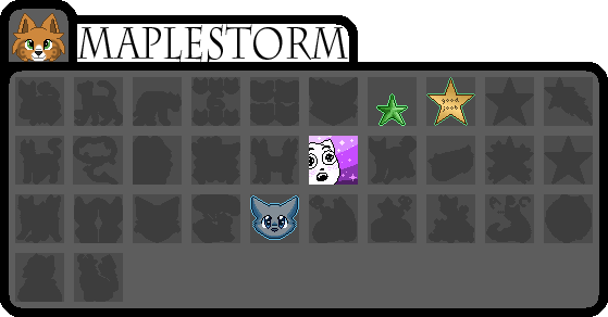 [wb]Maplestorm Badges by millemusen