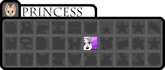 [wb]Princess badges by millemusen