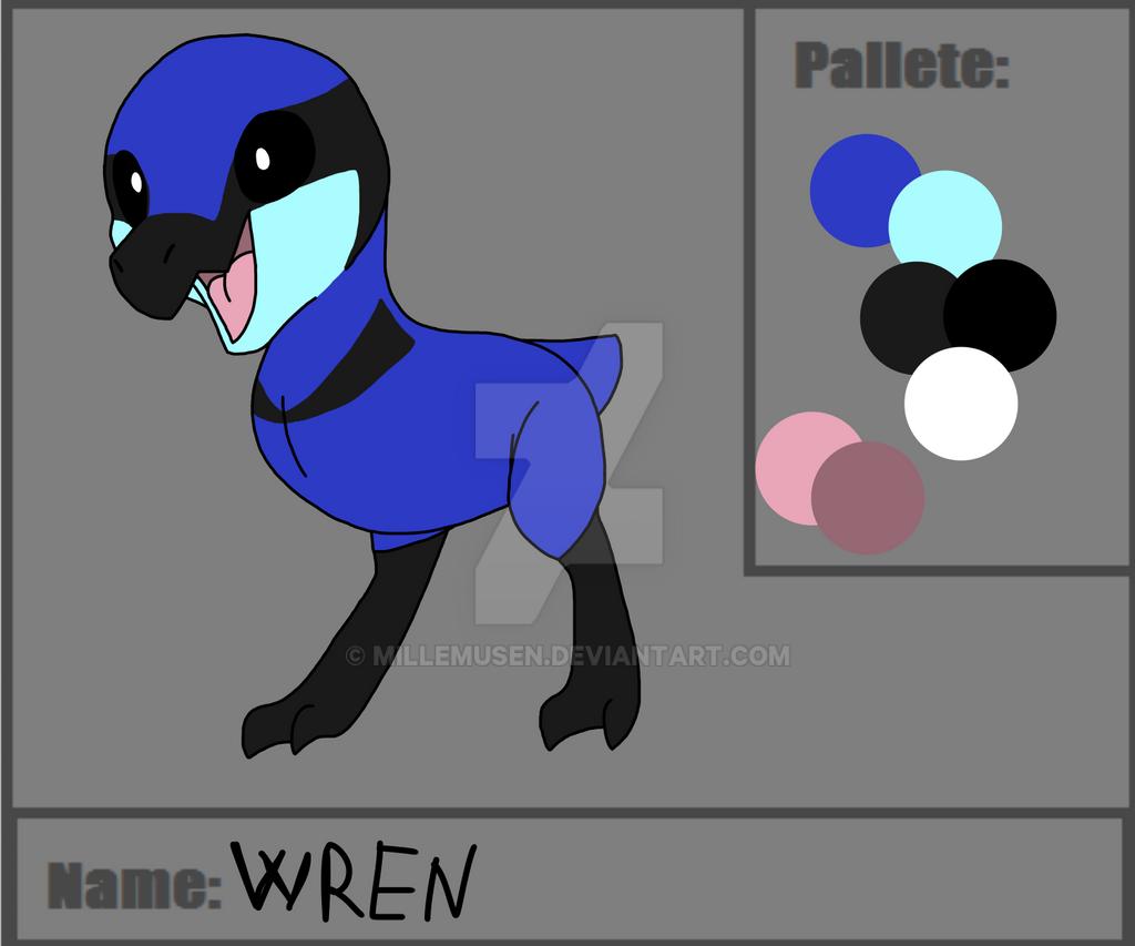[chikoraptor]Wren by millemusen