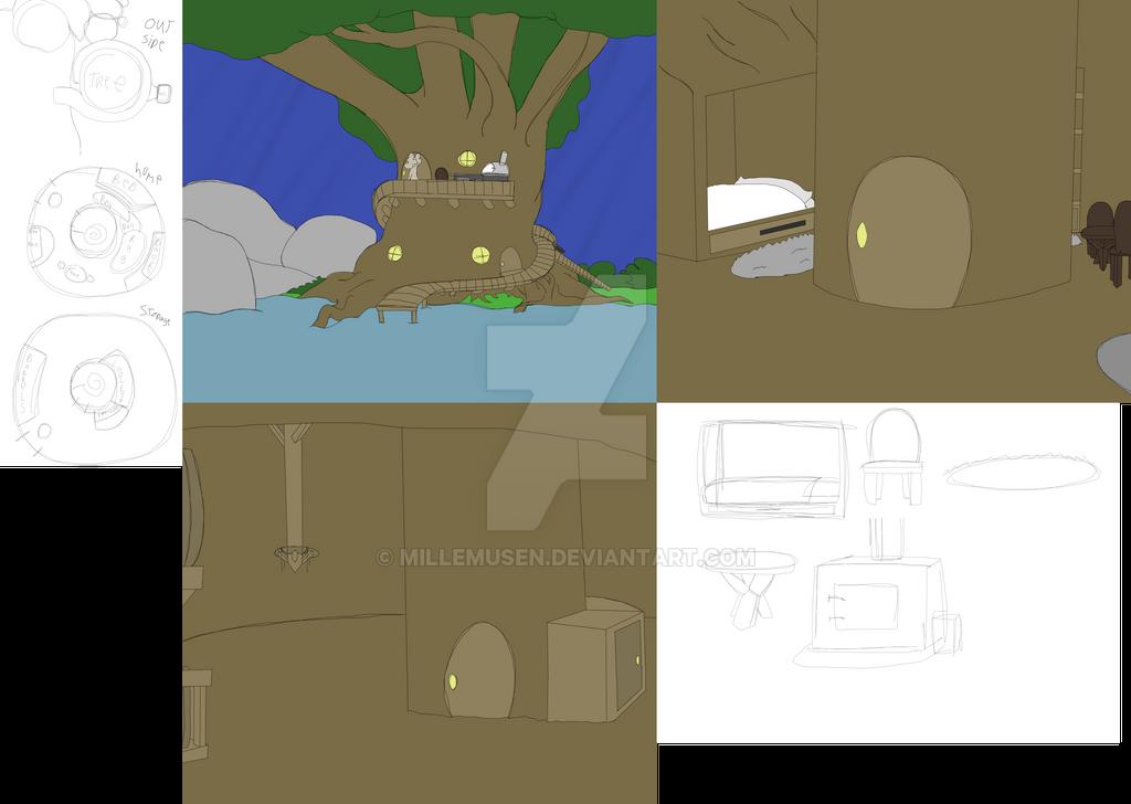 Bastes House V2 by millemusen