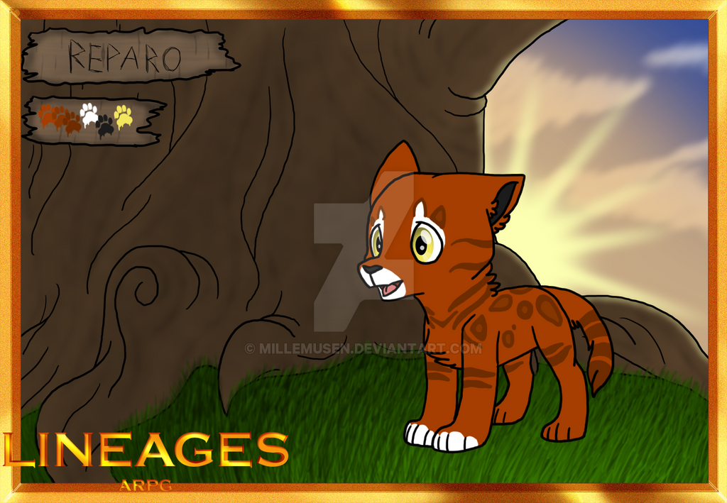 [lineages]Reparo|female|teen by millemusen