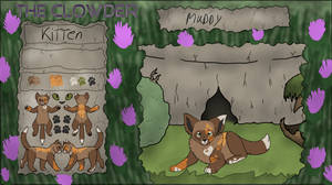 [cob]Muddy  kitten by millemusen