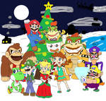 Super Mario and Friends Mushroom Kingdom Christmas
