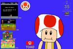 Toad Super Mario 35th Anniversary Wallpaper