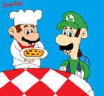 Luigi Pizza Time