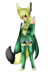 Elizabeth (head of the Ink fox Council) by TribalaKihara