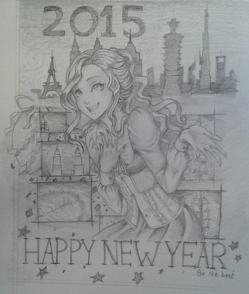 happy new year by Mii-Chiiro