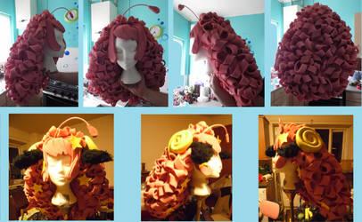 Moa's Wig (Foam wig)