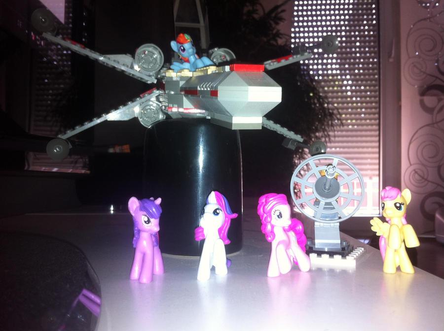 Mlp Star wars Lego by Jackair