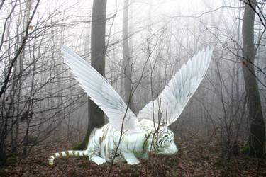 Winged Tiger: Arganon by Dark-Puppy