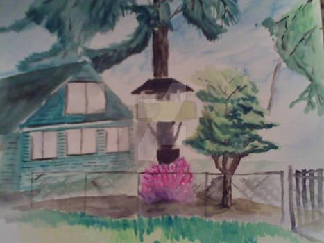 River Grove tree house (2014)