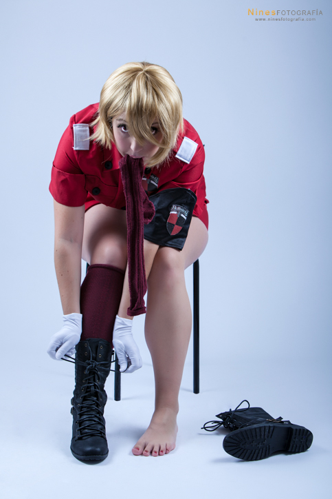 Seras Victoria. Almost Ready by Isawa-Hiromi