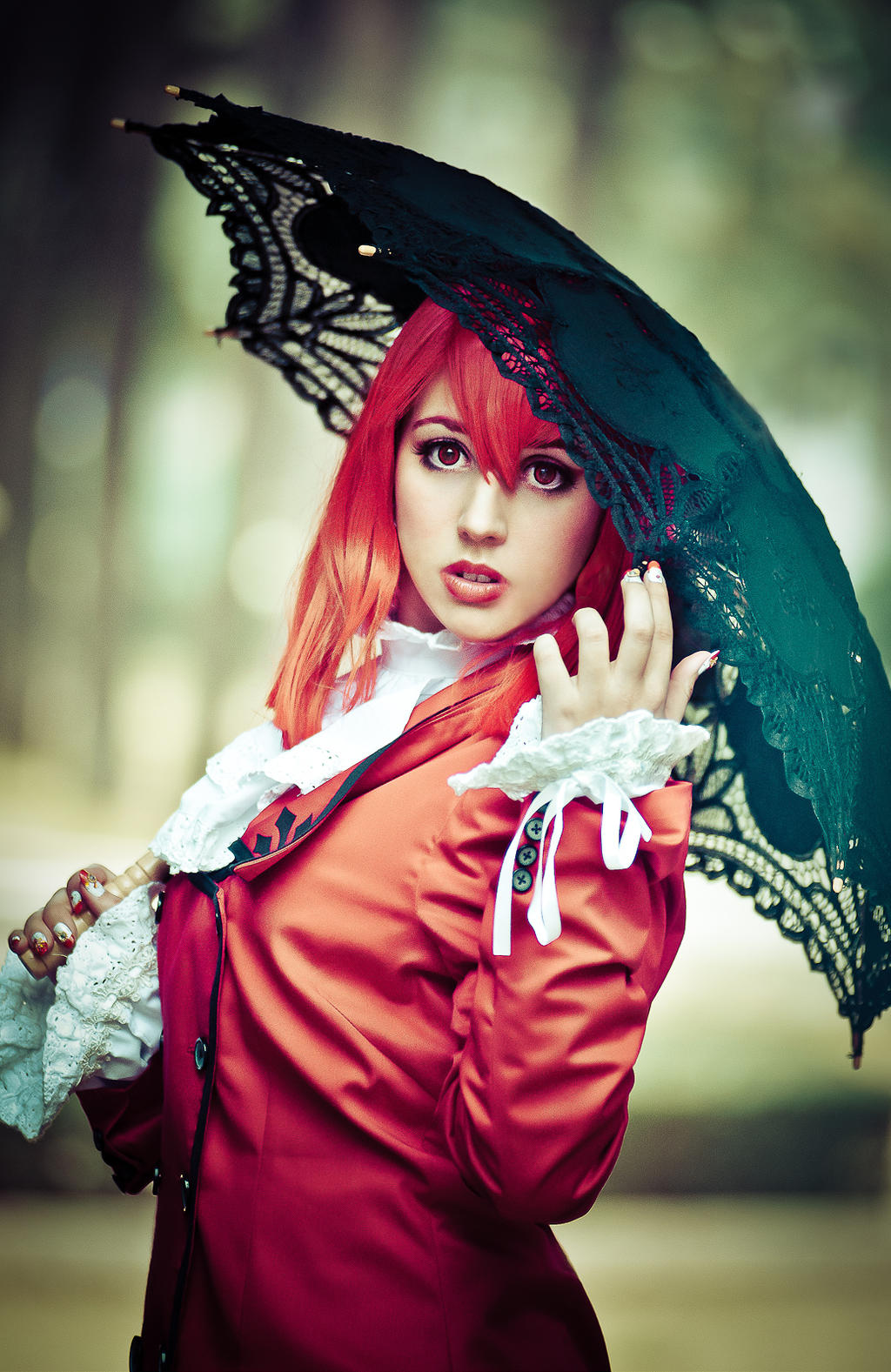 Lady Red. Black Buttler. Kuroshitsuji by Isawa-Hiromi