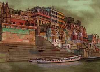 Varanasi by jessicasalehi