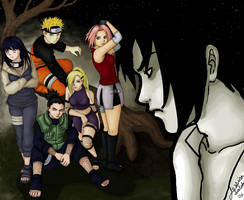 Naruto: 3 Years Later by jessicasalehi