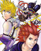 Kingdom Hearts by jessicasalehi
