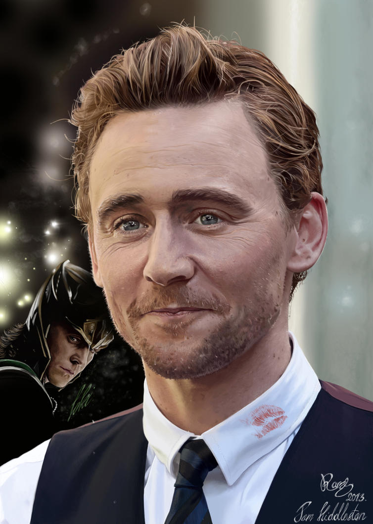 Tom Hiddleston by ramessz
