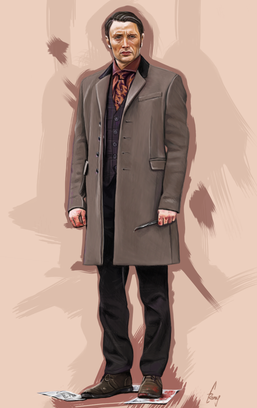Dr Hannibal Lecter by ramessz