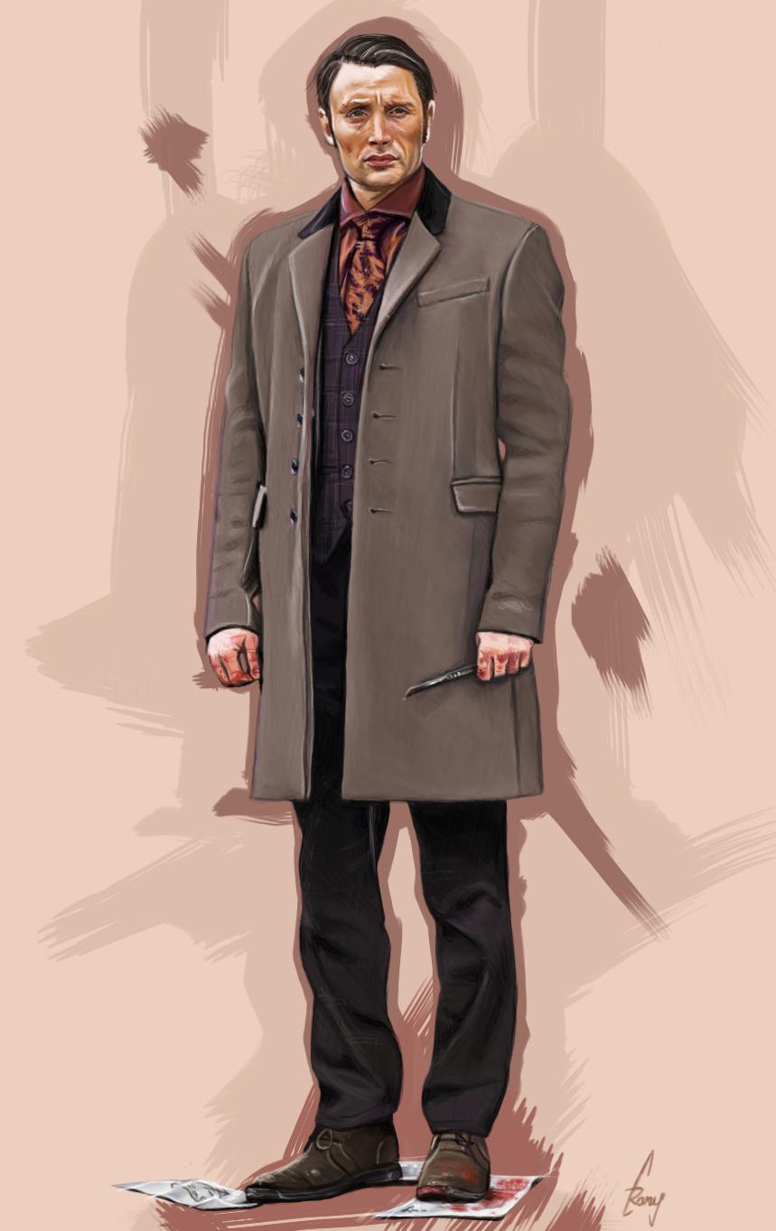 Dr Hannibal Lecter by ramessz