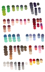 More Color Samples by Ritter-draws