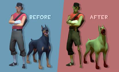 Doggo Zombie Preview