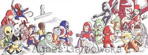 Commission Marvel Minnies